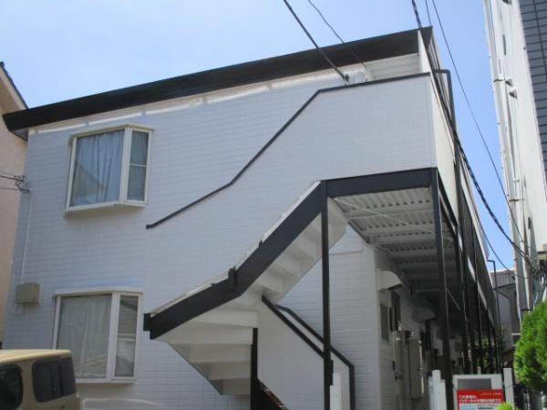 横浜市南区Wコーポ 外壁・屋根塗装工事