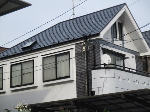 茅ケ崎市S様邸 屋根塗装工事