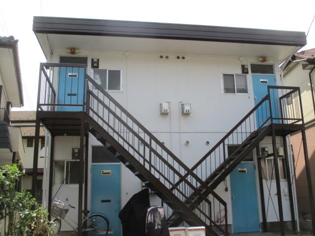 ひばりヶ丘Mアパート 屋根・外壁塗装工事