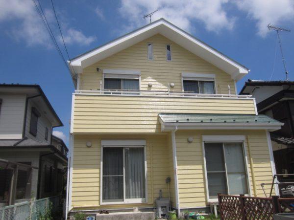 清瀬市のS様邸で屋根・外壁塗装工事