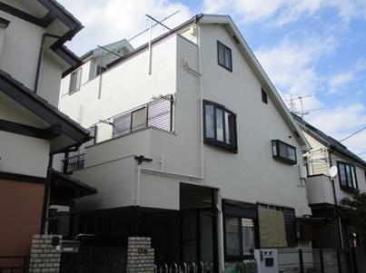 東村山市S様邸で屋根・外壁塗装
