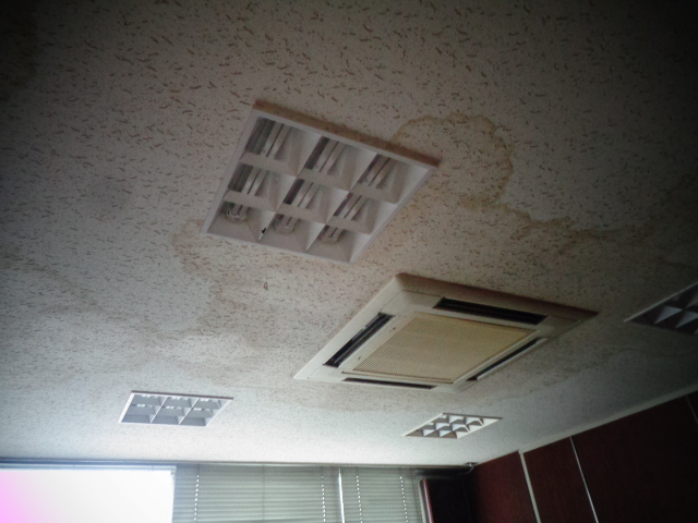 東村山市 天井雨漏り塗装工事