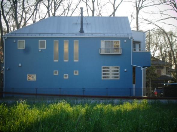 東村山市のK様邸で外壁塗装